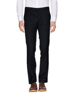 Повседневные брюки PAOLONI. Цвет: темно-синий