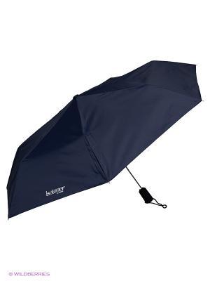 Зонты Isotoner. Цвет: синий
