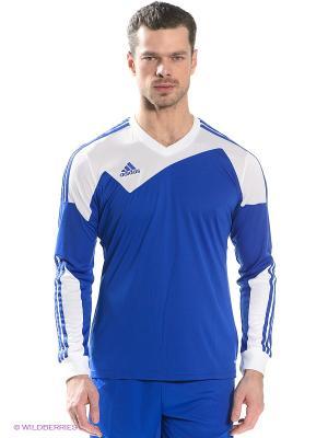 Лонгслив TOQUE 13 JSY LS Adidas. Цвет: белый, синий