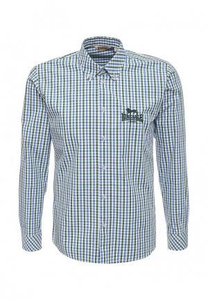 Рубашка Lonsdale. Цвет: синий