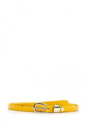 Ремень Mascotte. Цвет: желтый