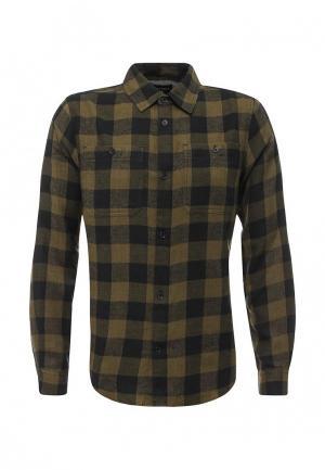 Рубашка d-Struct. Цвет: хаки