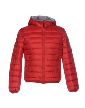 Куртка ITALIAN RUGBY STYLE. Цвет: кирпично-красный