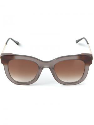 Солнечные очки Thierry Lasry. Цвет: серый