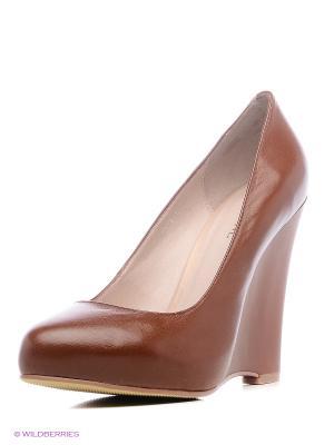 Туфли NO ONE. Цвет: коричневый