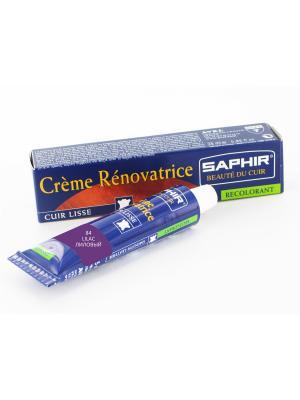 Восстановитель кожи Creme RENOVATRICE, 25 мл. (жидкая кожа)(84 лиловый) Saphir. Цвет: лиловый
