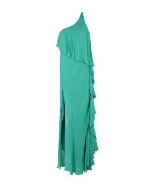 Длинное платье PATRIZIA PEPE SERA. Цвет: зеленый