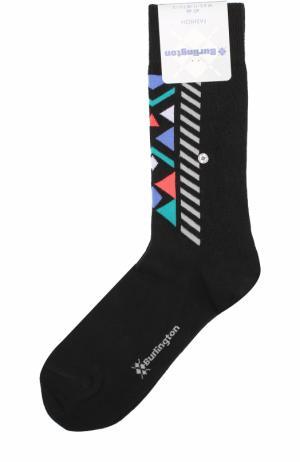 Хлопковые носки Fashion Burlington. Цвет: черный