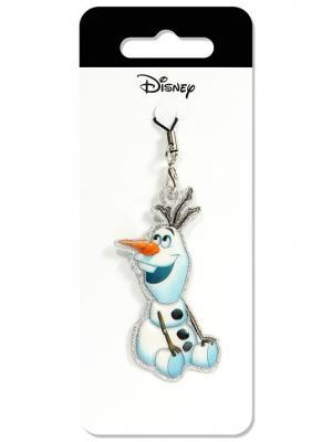 Брелок дисней холодное сердце олаф Disney. Цвет: черный, белый, светло-оранжевый