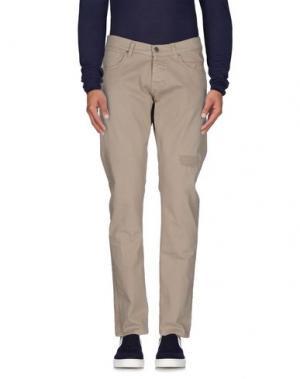 Джинсовые брюки 2W2M. Цвет: бежевый