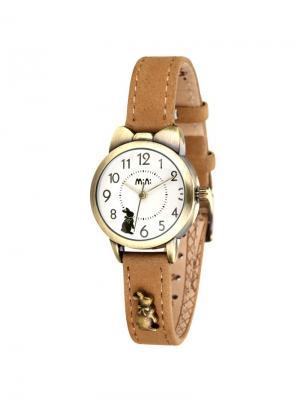 Наручные часы MN2022yellow Mini.. Цвет: серо-коричневый, светло-коричневый