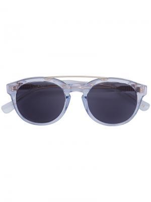 Солнцезащитные очки Anteka Epøkhe. Цвет: белый