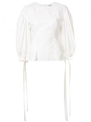 Блузка с объемными рукавами Rejina Pyo. Цвет: белый