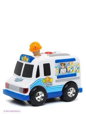 Машина Фургон с мороженым TOYSTATE. Цвет: белый, синий