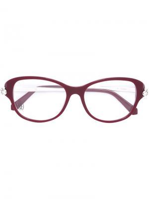 Очки Panthère Cartier. Цвет: красный