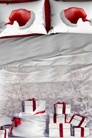 Double Duvet Cover Set COLORS OF FASHION. Цвет: white, red