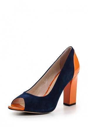 Туфли Evita. Цвет: синий