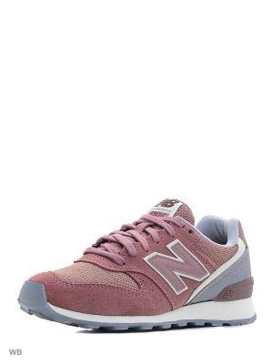 Кроссовки NEW BALANCE 996 TEXTILE. Цвет: розовый