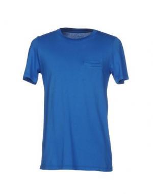 Футболка DEPARTMENT 5. Цвет: синий
