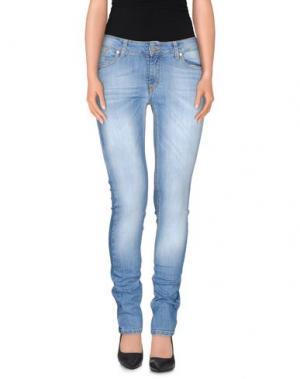 Джинсовые брюки KATE. Цвет: синий