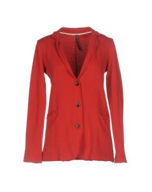Пиджак MANILA GRACE. Цвет: красный