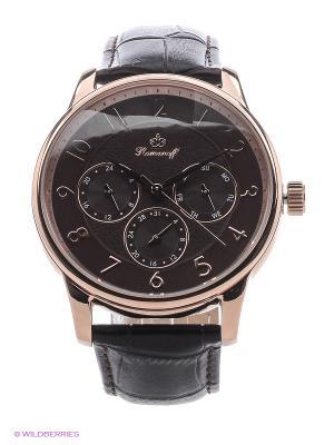 Часы наручные Romanoff. Цвет: коричневый