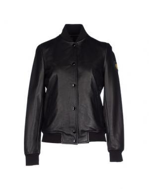 Куртка TRE CINQUE SETTE. Цвет: черный