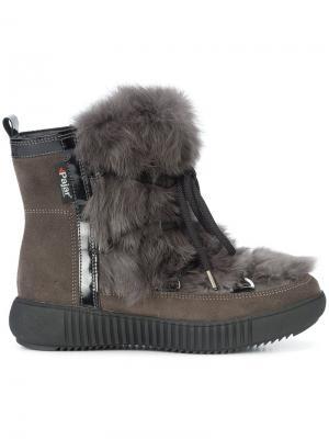 Зимние ботинки Anet Pajar. Цвет: серый
