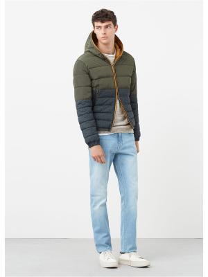 Куртка - CAZA MANGO MAN. Цвет: хаки