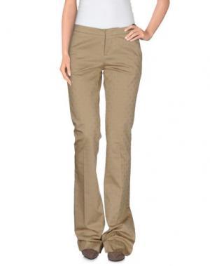 Повседневные брюки PT0W. Цвет: песочный