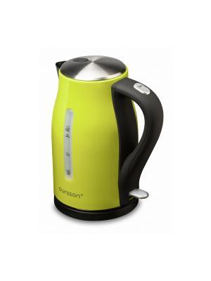 Электрический чайник. OURSSON. Цвет: зеленый