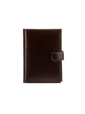 Бумажник водителя ASKENT. Цвет: коричневый