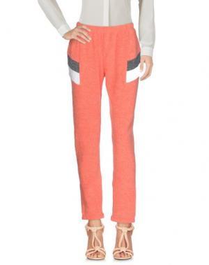 Повседневные брюки WILDFOX. Цвет: коралловый