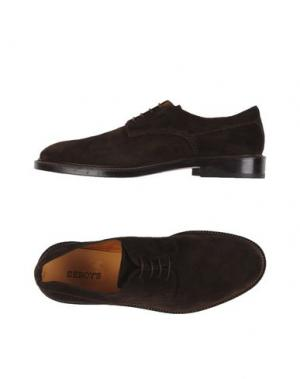 Обувь на шнурках SEBOY'S. Цвет: темно-коричневый