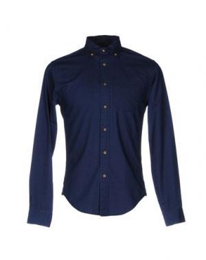 Джинсовая рубашка ALEX MILL. Цвет: синий