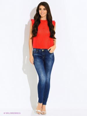 Блузка MEXX. Цвет: красный