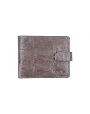 Бумажник GIUDI. Цвет: хаки