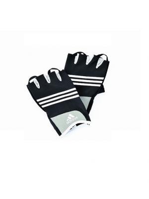 Перчатки для тренировок  Stretchfit Training Glove S/M Adidas. Цвет: черный, белый