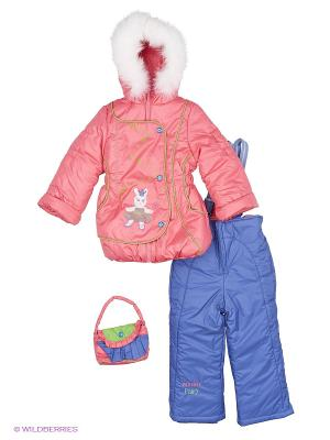 Комплект Венди Батик. Цвет: синий, розовый