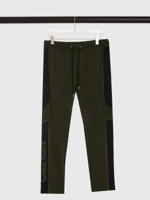 Спортивные брюки KENZO. Цвет: хаки