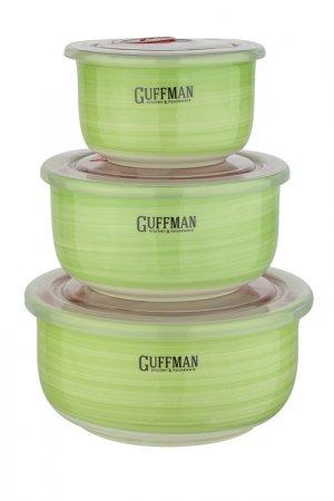 Набор контейнеров Guffman. Цвет: зеленый
