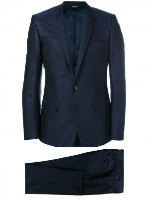 Блейзер с застежкой на две пуговицы Dolce & Gabbana. Цвет: синий