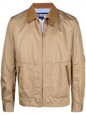 Пиджак с нашивками на локтях Junya Watanabe MAN. Цвет: нейтральные цвета