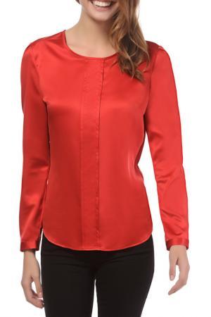 Блуза Vincenzo Boretti. Цвет: красный