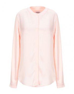 Pубашка BIKKEMBERGS. Цвет: светло-розовый