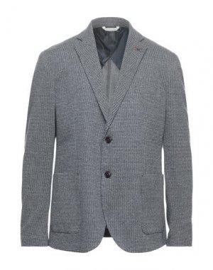 Пиджак ALESSANDRO GILLES. Цвет: серый