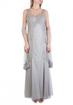 Платье MIKAEL. Цвет: серый