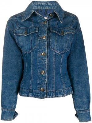 Джинсовая куртка 1990-х годов Fendi Pre-Owned. Цвет: синий