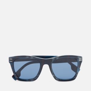 Солнцезащитные очки Cooper Burberry. Цвет: синий