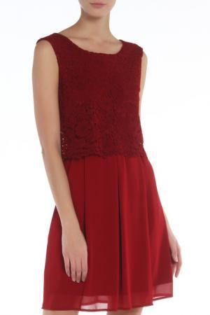 Платье Elisa Landri. Цвет: bordeaux